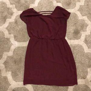 City Triangles Dresses - Maroon dress